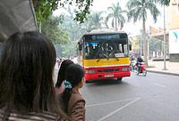 Busse in Hanoi